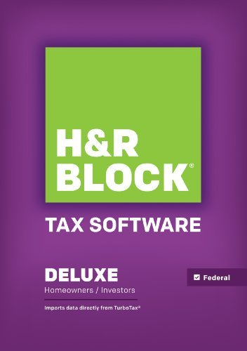 H&R Block Tax Software Deluxe 2014 Win [Download] (H And R Block 2014 Tax Software)