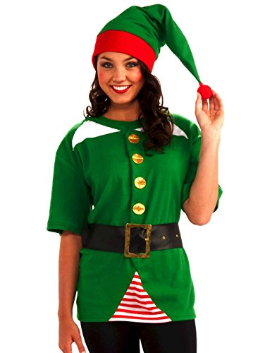 Forum Novelties Unisex Adult Jolly Elf Costume Kit,