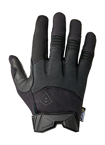 First Tactical Men's Medium Duty Padded Gloves, Black, (Black Fingerless Neoprene Gloves)