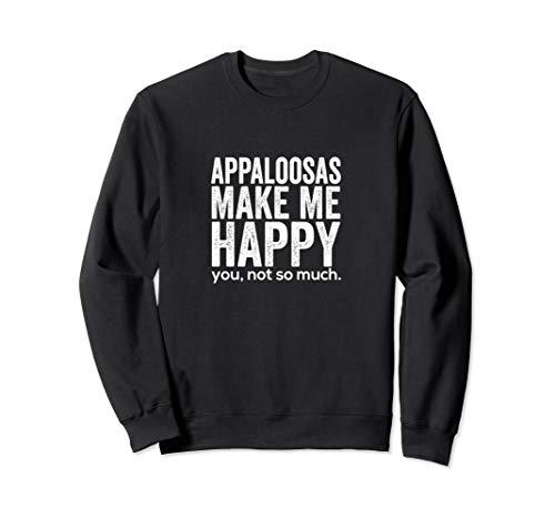 Beautiful Appaloosa  Horse - Horse Breed Lovers Gift Sweatshirt