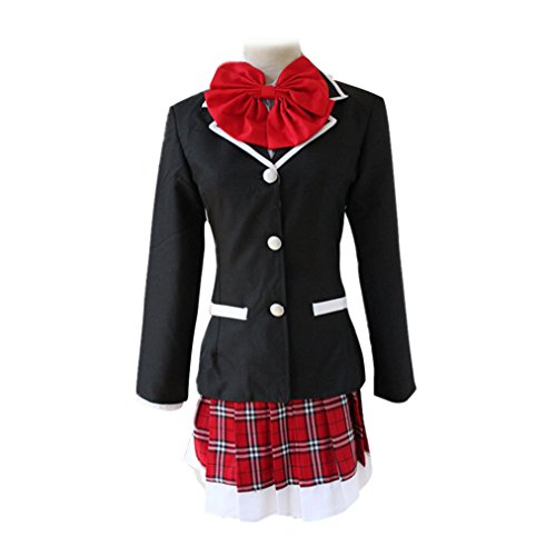 Girls Japanese Anime High School Uniform Dress Takanashi Rikka Cosplay Costumes