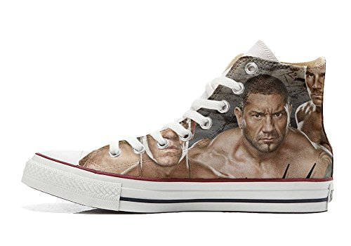 Converse All Star Customized - Zapatos Personalizados (Producto Artesano) WWE Wrestling