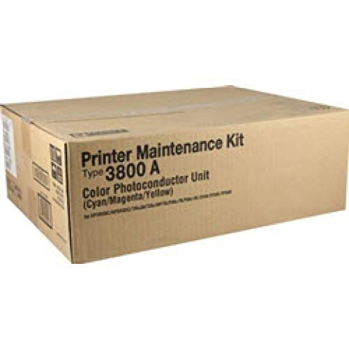 Ricoh 400594 Color Photoconductor Kit (Includes 1 Per Color Cyan, Magenta, Yellow) Type 3800A ()