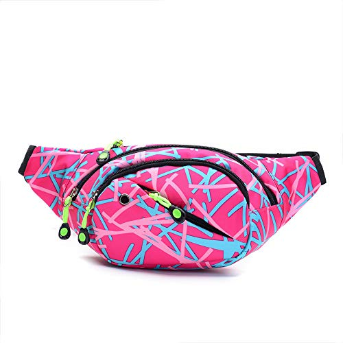 - Unisex Outdoor Sports Casual Camoufla Waist Pack Bicycle Cycling Sport Belt Bag - HHmei Unisex Camouflage Pockets| Woman White Blue Tote Travel Set Small Backpack Gold Handbags Fashion (Pink)