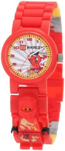 Lego Kids' 9004254 Ninjago Kai Minifigure Link Watch