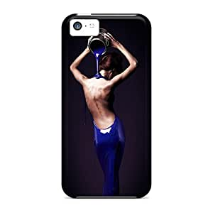 Mycase88 Fashion Protective Photoshop Beautiful Dress Cases Covers For Iphone 5c