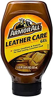 Armor All Car Leather Conditioner Gel, Interior Cleaner for Cars, Truck and Motorcycle, Cleans and Conditions,
