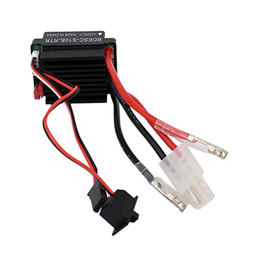 Ktyssp Waterproof 320A Brushed ESC Electronic Speed Controller for RC Car Truck Boat Professional from Ktyssp Car Model and Accessories