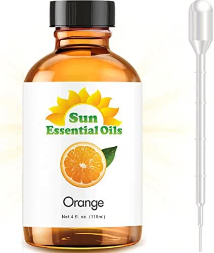 Sweet Orange (Large 4 ounce) Best Essential Oil