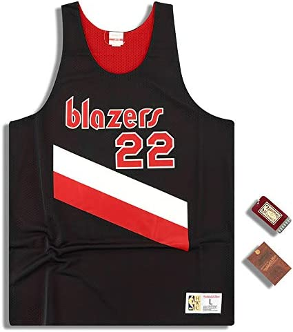 Portland Trail Blazers Mitchell /& Ness Men/'s Reversible NBA Drexler Jersey New