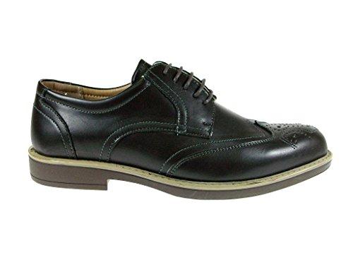Heren Edison17 Jurk Casual Veter Oxford Schoenen Casual Schoenen Bruin