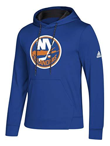 adidas New York Islanders NHL Men's Goalie Pullover Hooded Sweatshirt(L)