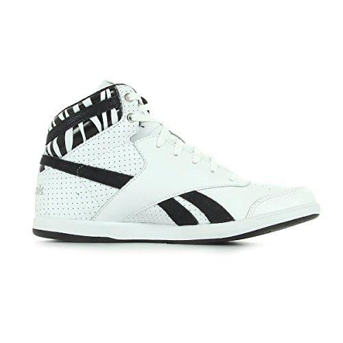 Argent Noir Mid Blanc Bb7700 Sneaker Donna Reebok Et 0AXzqv