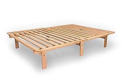 Ekko Platform Bed - Hardwood Frame