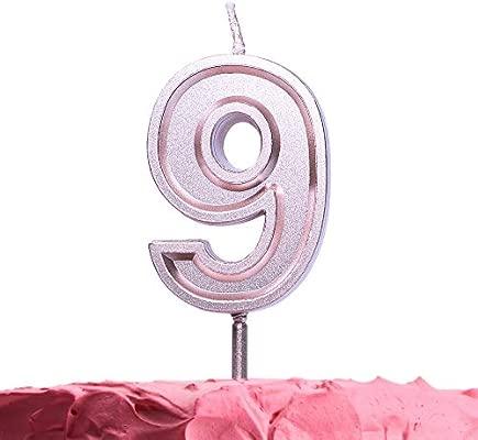 Elegante vela Get Fresh con palo, ideal para cumpleaños ...