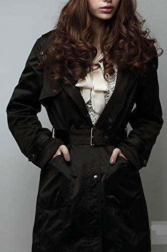 Plus Femmes Capuche Yulinge Longues Survêtement La À Manches Taille Noir Polaire Veste Cardigan Zippée wnqq6Fvd1x