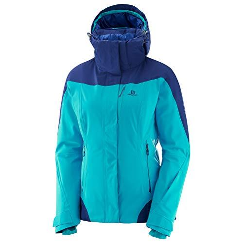 Salomon Women's Icerocket Jacket, Blue Bird, Small -