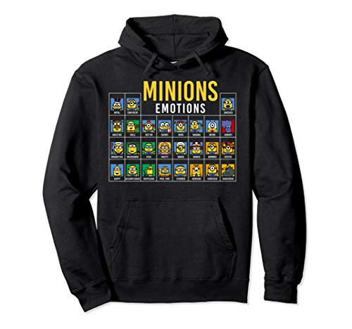 Minion Hoodie For Adults (Despicable Me Minions Periodic Table Of Minions)