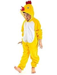 Kids Animal Jumpsuit Costume Romper Frog Mouse Rabbit Chicken Cartoon Pajamas