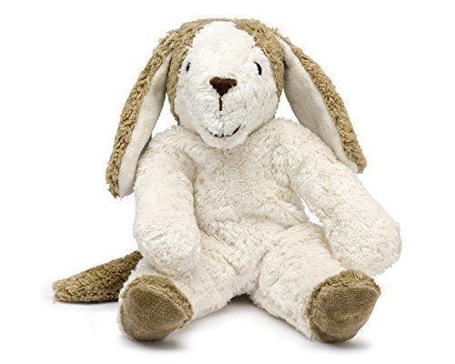 Senger Stuffed Animals - Dog - Handmade 100% Organic Toy (White/Beige - 12 Inches Tall) by Senger Tierpuppen by Senger Tierpuppen