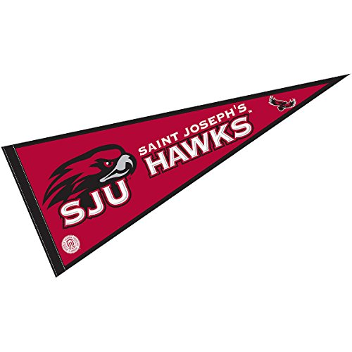 University Ncaa College Pennant (Saint Josephs University Pennant Full Size Felt)