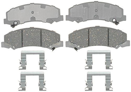 ACDelco 14D1159CH Advantage Ceramic Front Disc Brake Pad Set with (Monte Carlo Front Disc Brake)