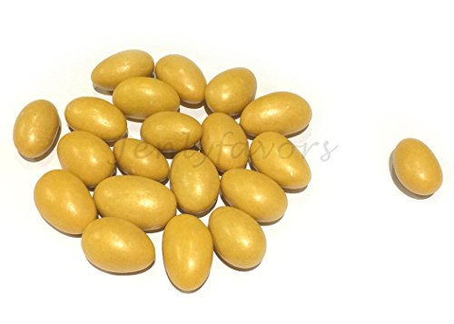 Jordan Almonds (5 lbs) (Gold)]()