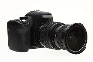 OTING - Objetivo súper Gran Angular Fisheye OTING 0.15X con Macro para CANON EOS 1200D 1100D 1000D 700D 650D 600D 550D 500D 450D 400D 350D 300D 10D 20D 30D 40D 50D 60D 1D 5D 6D 7D