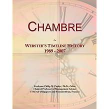 Chambre: Webster's Timeline History, 1989 - 2007