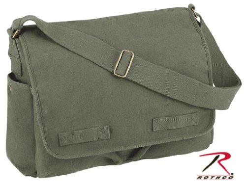 Classic Army Heavyweight Messenger Shoulder Bag