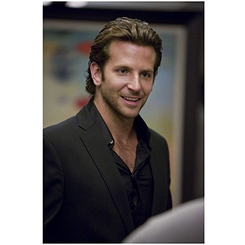 Bradley Cooper in The Hangover as Phil in Black Suit Talking 8 x 10 - In Cooper Hangover Bradley The