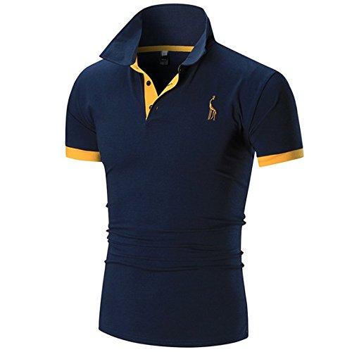 BUZZ WEAR [バズ ウェア] メンズ ポロシャツ poloシャツ 半袖 無地 ワンポイント スポーツ サッカー ゴルフ ゴルフウェア 春 夏