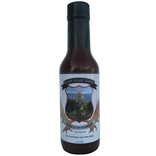 Chads Obsession Hot Sauce   All Natural Handcrafted Gluten Free Spicy Sauce   Made With Organic Blue Agave  Sea Salt And Other Spices  5 Oz