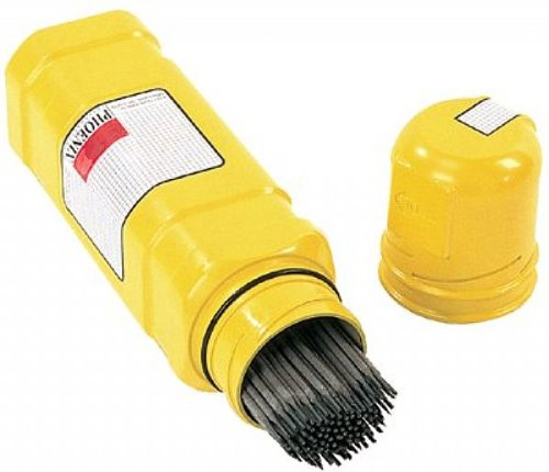 HDPE Plastic Safetube Rod Containers Yellow for 14 in Electrode