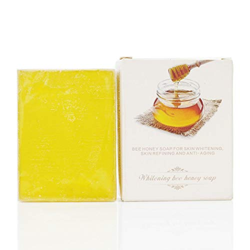 Whitening Soap with Honey Bee & Collagen for Stretch Marks, Wrinkles & Skin Refining