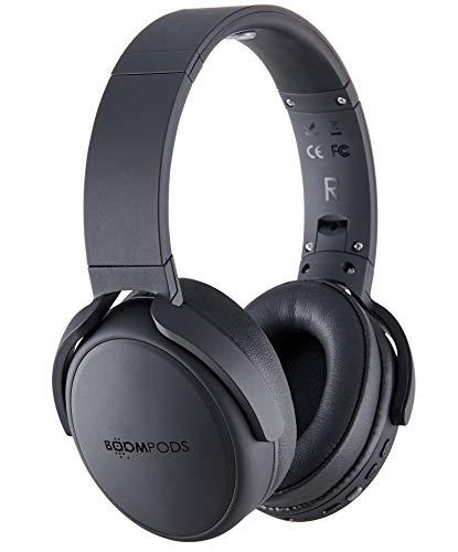 BOOMPODS HEADPODS PRO with Integrated Equaliser Settings -Headphones OnEar Comfort Earpads, 12 Hour Battery, Deep Bass…