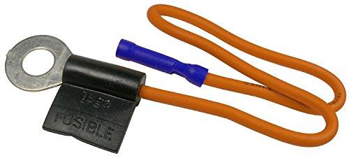 """Pico 5553PT 10-1/2"""" Ford 16 Gauge Starter Solenoid Fusible Link 5/16"""" Stud - Orange 1 Per Package"""