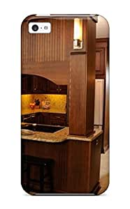 linJUN FENGIAQcjHP8969GreeR Faddish A Kitchen With Secret Storage Case Cover For Iphone 5c