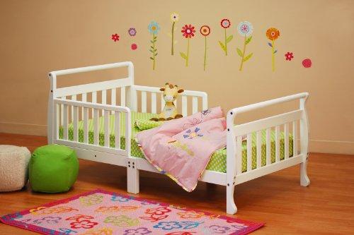 Athena Anna Sleigh Toddler Bed, White by Athena (Image #2)