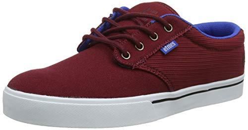 Etnies Men's Jameson 2 ECO Skate Shoe, red/Blue/White, 9 Medium US