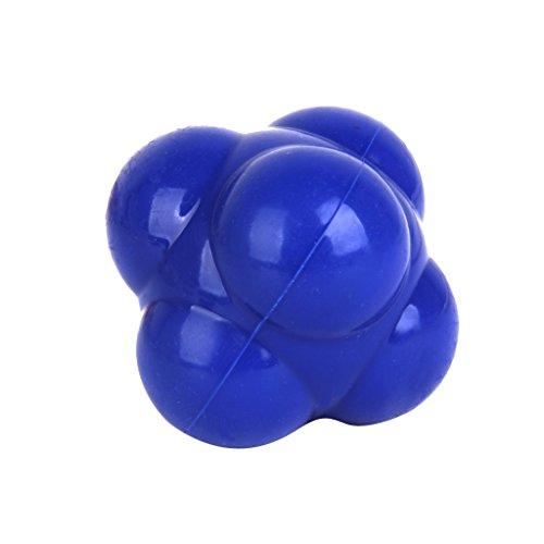 Footful Balle de Réaction pour Formation Agilité Coordination Réflexe Exercice - Bleu