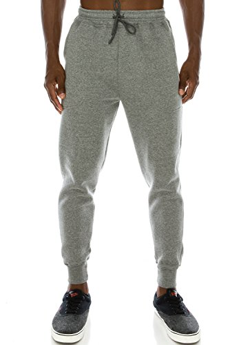Mens Hipster Hip Hop Drawstring Jogger Sweatpants- Charcoal - Hipster Products