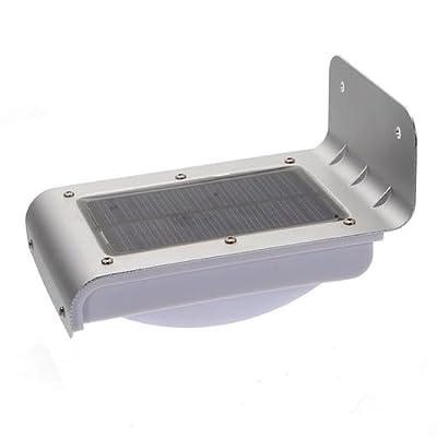 16 LED Lampe solaire capteur de son Lighting Path extérieur lumière de cour jardin lampe mural