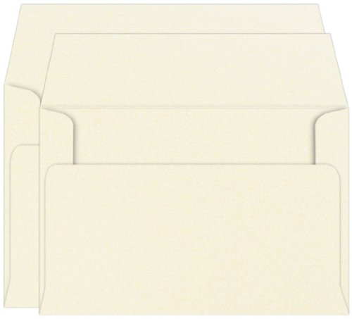 Stardream Opal Envelope (A9 Metallic Opal Stardream Double Unlined Envelopes 81lb, 25 pack)