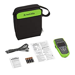 The NetAlly LinkRunner AT Network Auto-Tester is the fastest way to solve network connectivity problems. This rugged, handheld network tester takes the guesswork out of troubleshooting with its complete one-button AutoTest. The AutoTest perfo...