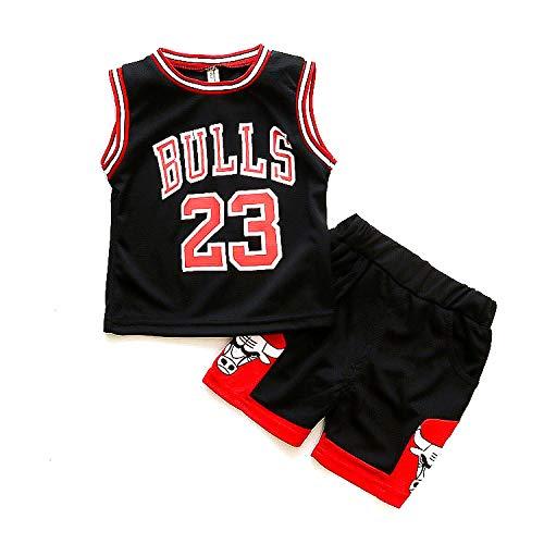 N&G SPORTS Michael Jordan, Camiseta de Baloncesto Infantil, toros, Camiseta Deportiva, Chaleco