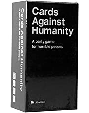 A Party Game - Cards Against Humanity Party Game Play Cards for Horrible Play-Version 2.0 UK Edition