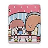 Throw Blanket Gallery Kawaii Japanese Characters Soft Lightweight Warm for Winter 50 x