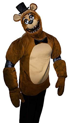 Rubie's Men's Five Nights Adult Freddy Costume, As As Shown, Standard -