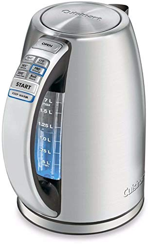Cuisinart Perfectemp Cordless Electric Kettle (Renewed)